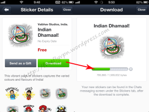 Download Indian Dhamaal Stickers With India VPN