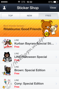 Free Line Stickers In Turkey